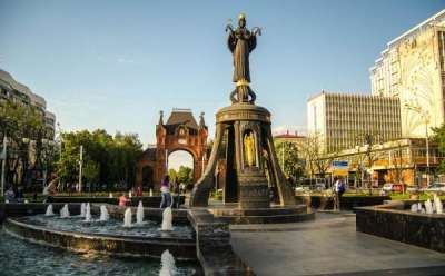 Краснодар, город-миллионник с мягким климатом